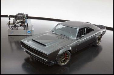 當1968年式的Dodge Charger   變成1000hp的「地獄象」?