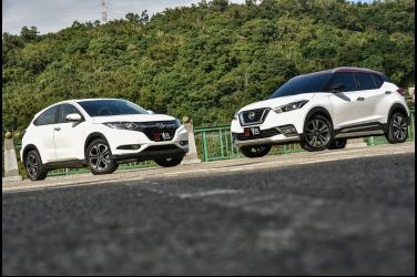 踩界  Nissan Kicks vs. Honda HR-V(一、配備篇)