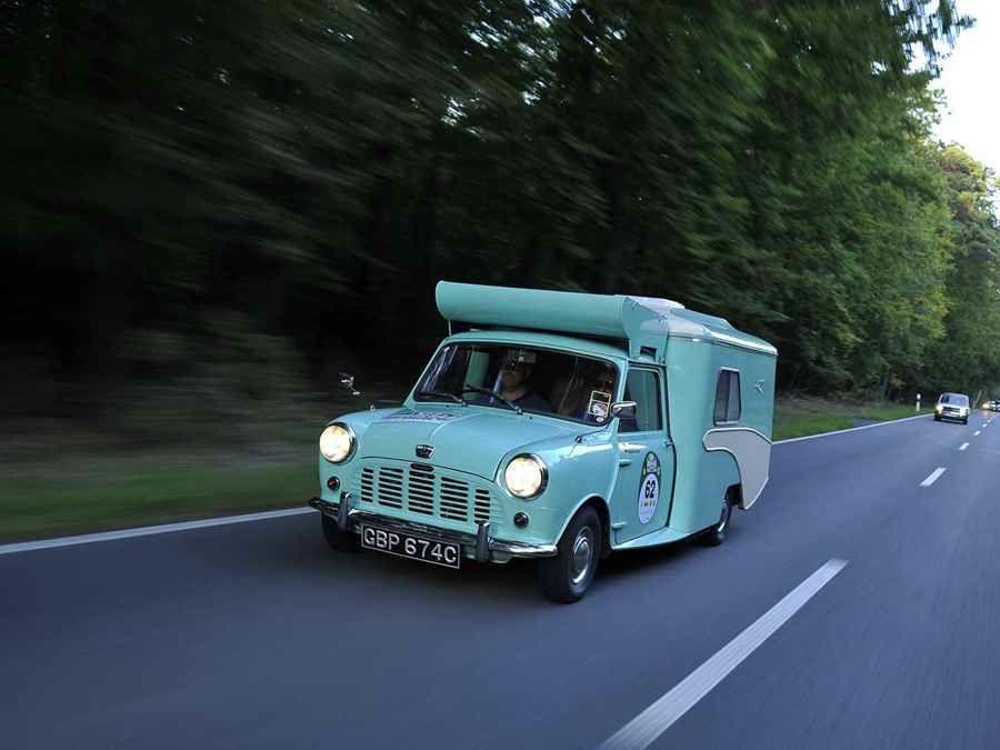 你知道當年有一輛以Mini做成的Wildgoose露營車嗎?