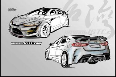 Hyundai Elantra Sport改裝企劃(一)----PART.4空力套件孕育計畫