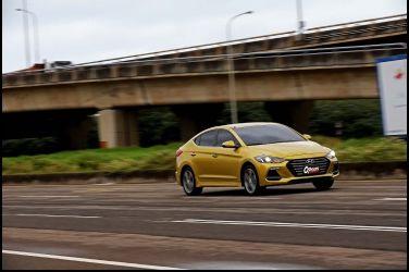Hyundai Elantra Sport改裝企劃(一)----PART.2 0-100km/h、0-400M加速實戰