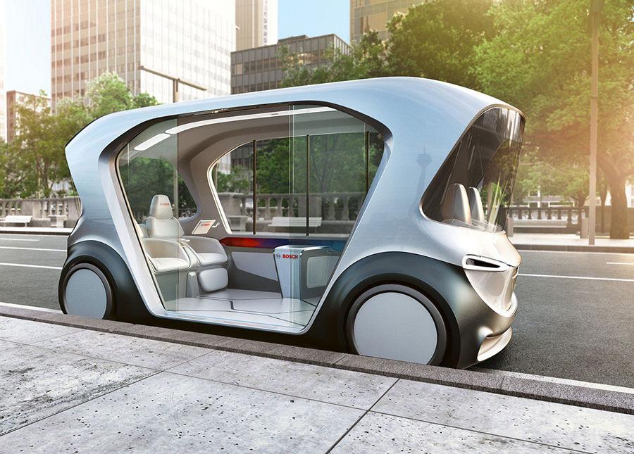 Bosch未來交通藍圖,美的無與倫比!