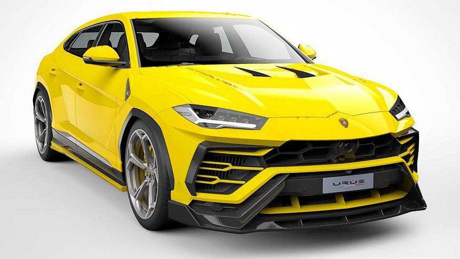 Vorsteiner改造過的Lamborghini Urus讓原廠狀態看起來內斂許多