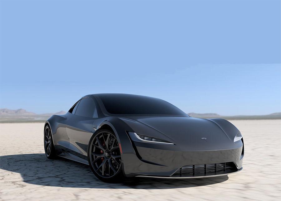 寧靜的氣勢!創作者讓Tesla Roadster性感無比(影片)