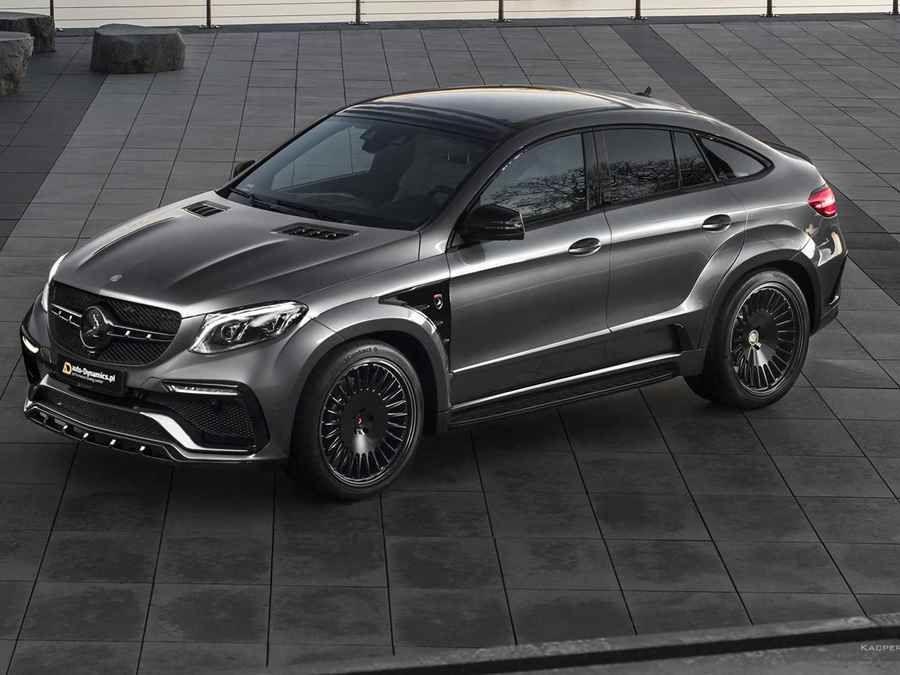 休旅超跑!以Mercedes-AMG GLE 63 S Coupe改裝的Project Inferno擁有806HP