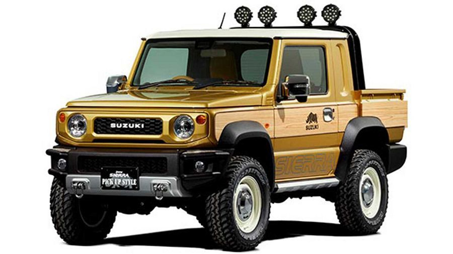 大玩設計!東京改裝車展上將看到木質感的Suzuki Jimny貨卡