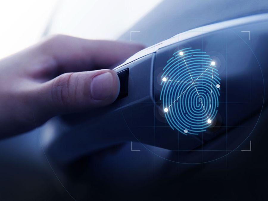 Hyundai宣布推出世界首款車用智慧辨識指紋技術