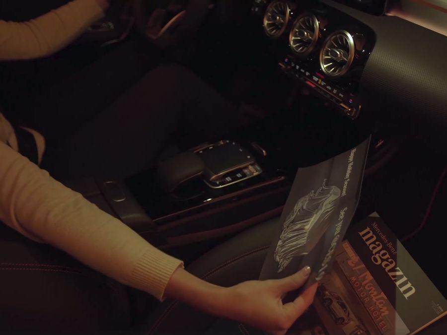 手勢開啟閱讀燈 !新款Mercedes-Benz CLA-Class小露身手