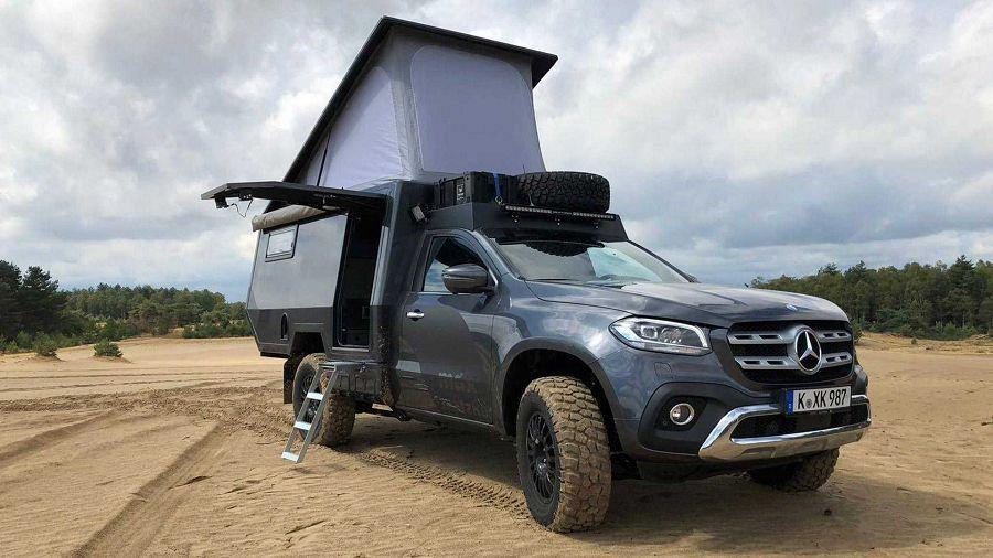 探索世外桃源專用!Matzker推出Mercedes-Benz X-Class露營車