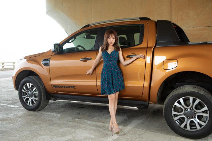 Motor Babe - Ford Ranger Wildtrak    城鄉間的遊俠