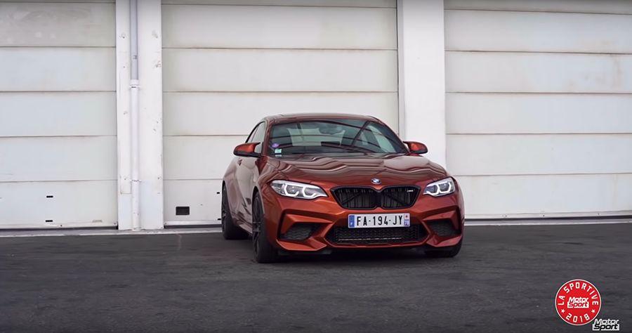 BMW M2 Competition賽道單圈比M3還快!