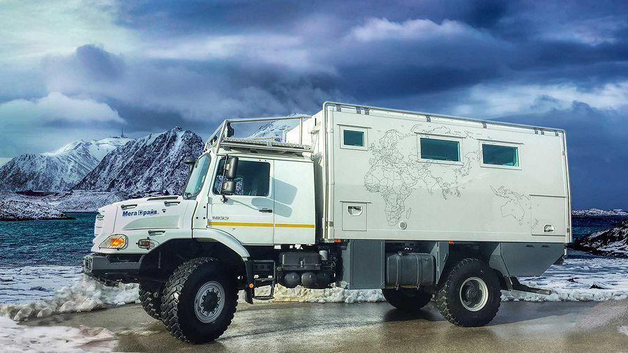 重裝探險!Action Mobil推出的 Pure 5000 Zetros露營越野卡車
