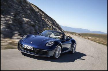 開篷展風情 Porsche 911 Cabriolet