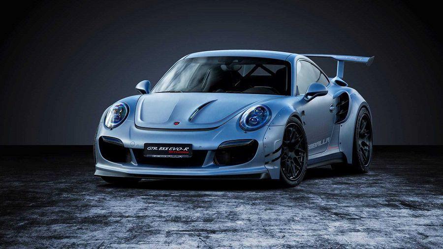 807HP!Gemballa發表狂氣外露的Porsche 911 Turbo改裝作品