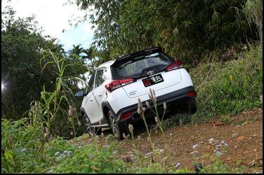 跨界小野鴨  Toyota Yaris Crossover(下)