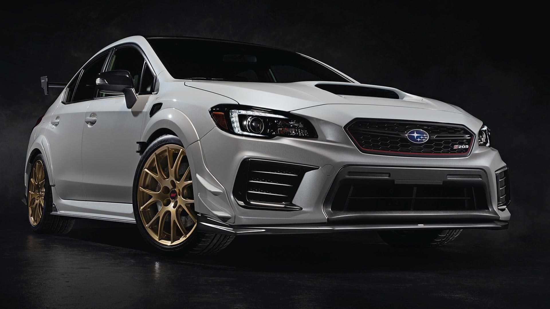 強中之強!限量版Subaru WRX STI S209正式發表!