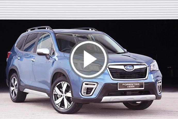 日系Hybrid新星!Subaru Forester e-Boxer發表 & 試駕體驗