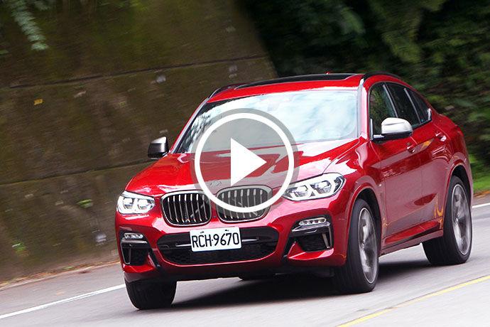 有「M」真好!X跑旅新經典 BMW X4 M40i