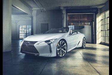 絕美敞篷身形 !Lexus LC Convertible Concept