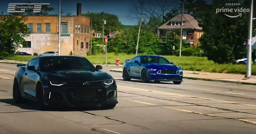 影音/Camaro驅魔人大戰700匹馬力Mustang RTR!
