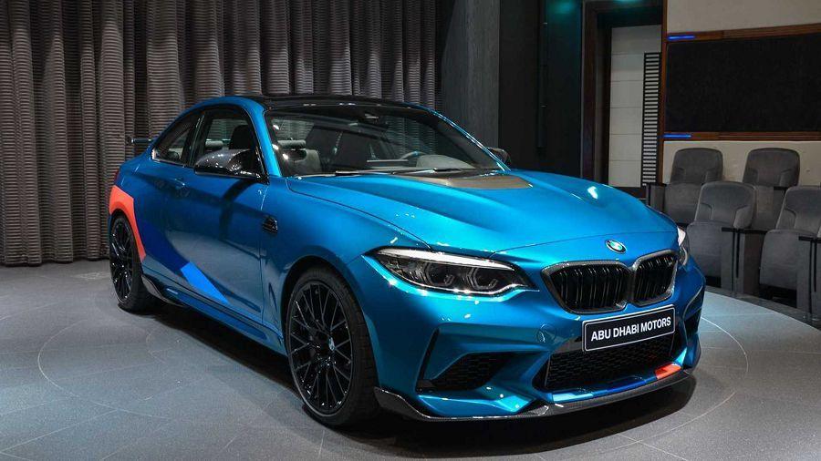 選滿M Performance配備的BMW M2 Competition!