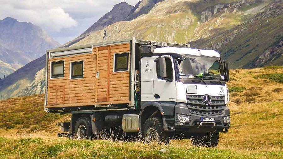 來自德國的BUMO能替你打造得以永續發展的露營車
