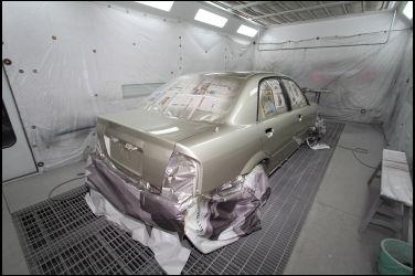 [車漆專題] 汽車塗裝技術介紹(中)   烤漆的打底技術---補土工法 !!