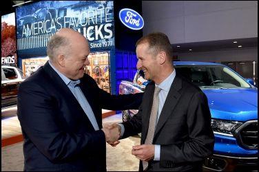 先從商車著手  Ford和VW宣布全球合作計畫 !!