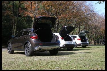 跨界爭寵   Lexus UX 250h vs. Infiniti QX30 vs. BMW X1 sDrive 20i(中)