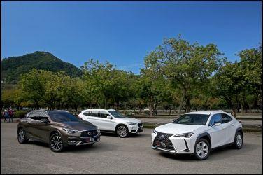跨界爭寵   Lexus UX 250h vs. Infiniti QX30 vs. BMW X1 sDrive 20i(上)
