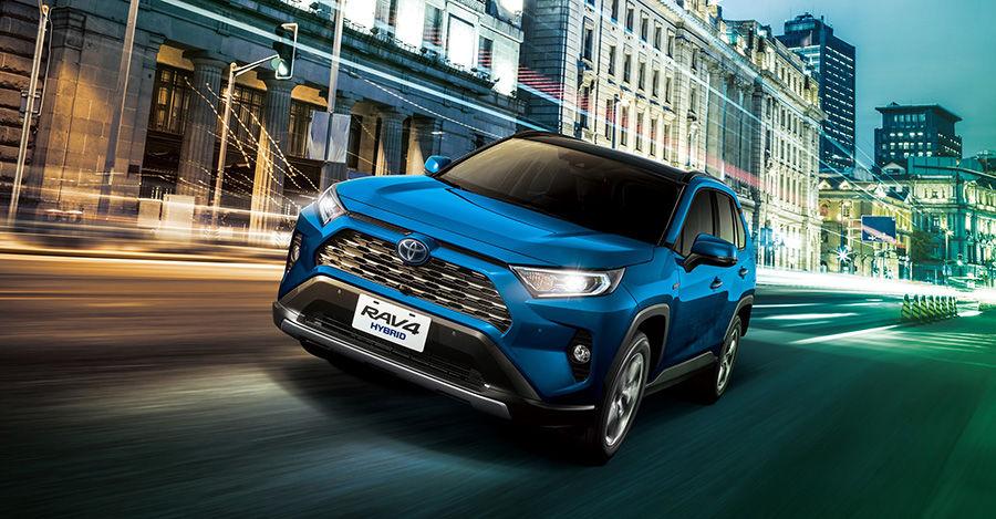 TOYOTA RAV4預購96.9萬元起! 標配TSS還有Hybrid與4WD車型!