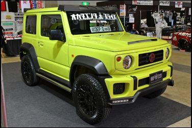 更Man的Jimny   超人氣Liberty Walk G Mini !!