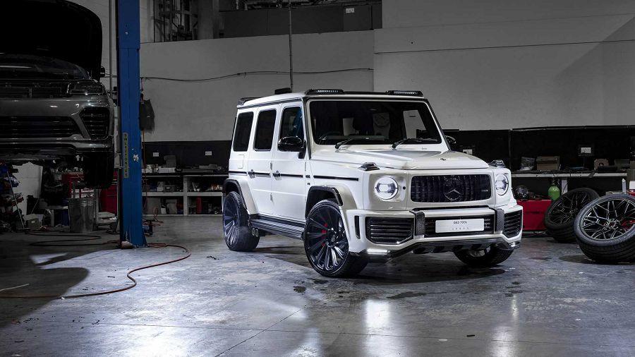 英倫硬漢!滿載碳纖維與寬體的2019 Mercedes-AMG G63