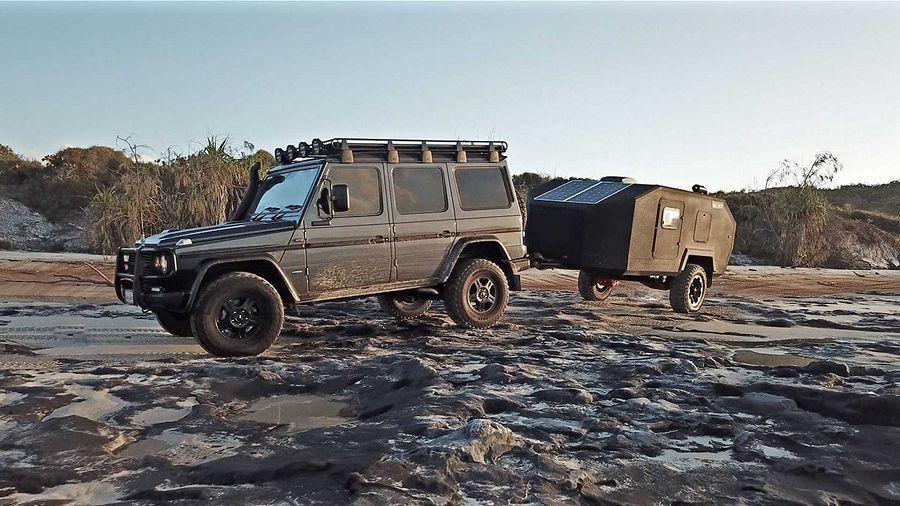 露營也可以很親民─Bruder EXP-4露營拖車