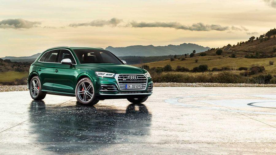 超跑等級的扭力!2019 Audi SQ5 TDI現身