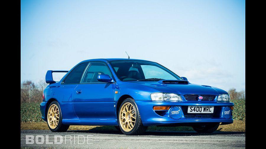 Subaru的獨角獸「Impreza 22B STI」為何如此搶手?