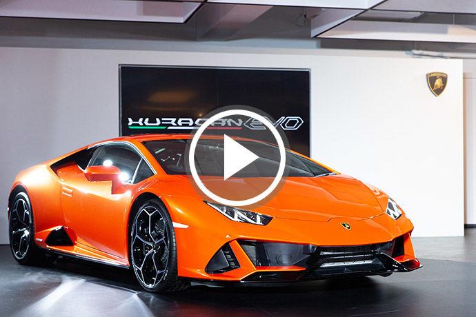 驚喜現身!Lamborghini Huracán EVO搶先鑑賞