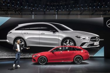 最新旅行風 Mercedes-Benz CLA Shooting Brake