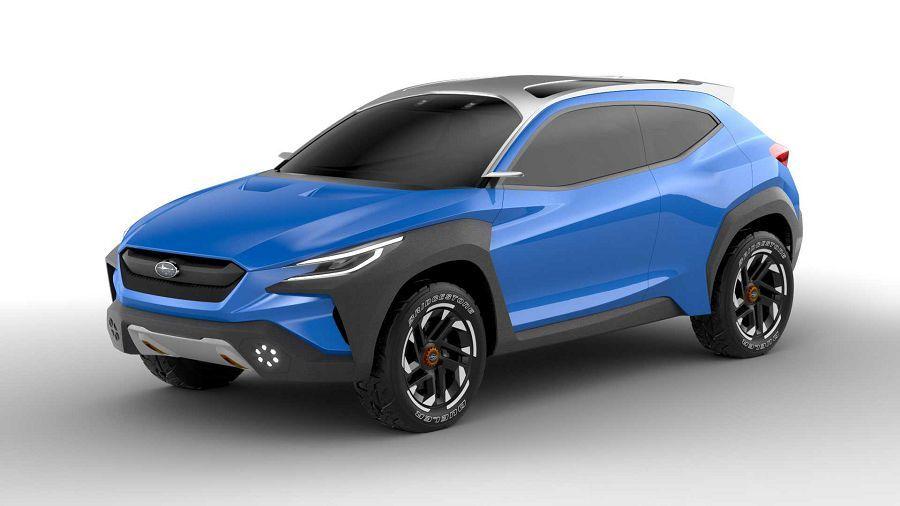 有稜有角的前衛越野風─Subaru發表Viziv Adrenaline概念車