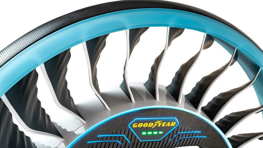 Goodyear推出的Aero旋翼胎讓我們更接近飛行汽車的時代了