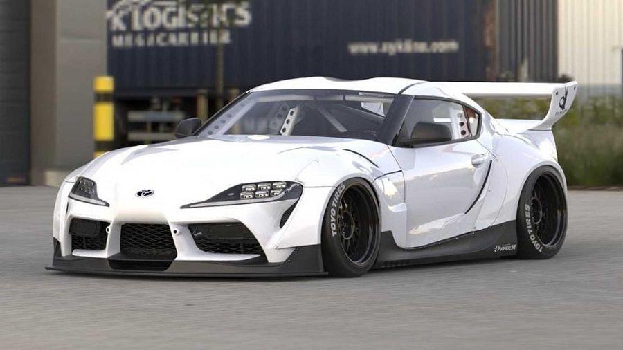 Rocket Bunny替Toyota Supra推出寬到不行的車體套件