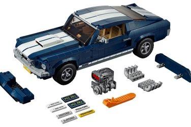 大男孩夢寐以求的Ford Mustang GT樂高