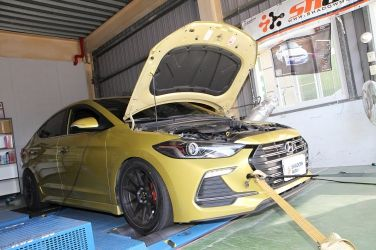 Hyundai Elantra Sport改造計畫  動力快速提昇20hp!怎麼做到的?(上)
