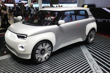 負擔得起的電動車 Fiat Centoventi Concept