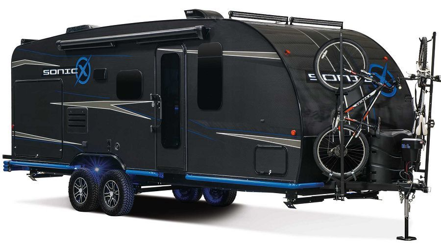 Sonic X RV是首輛具備永續性與碳纖維材質的露營拖車