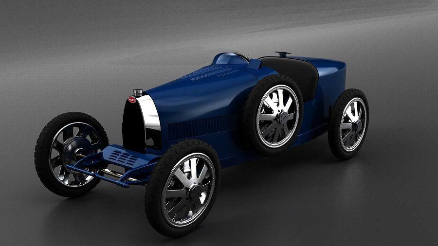 後輪傳動、純電動力的Baby II顯然是最便宜的Bugatti啊