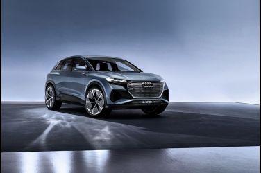 預計明年底量產 Audi Q4 e-tron Concept