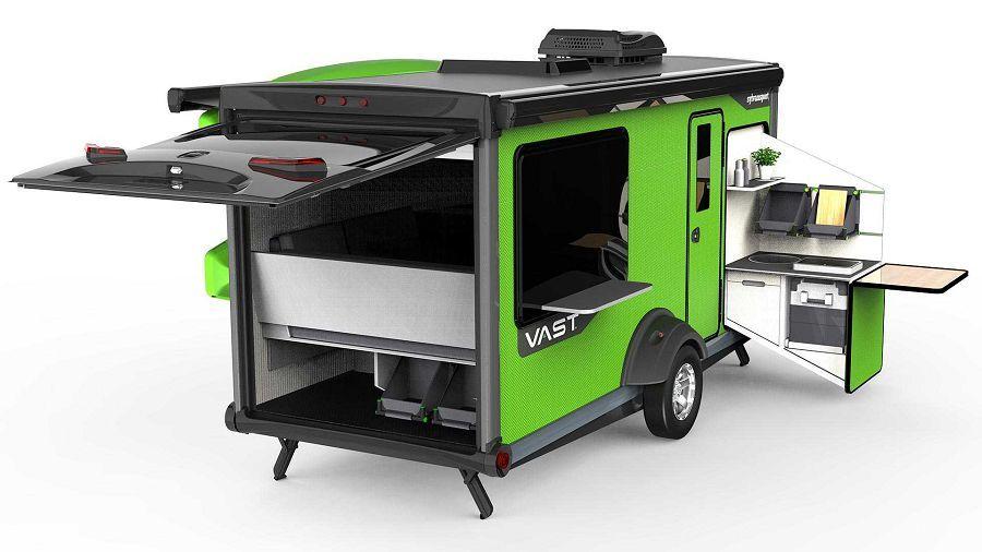 今年最酷的創意露營拖車─Sylvan Sport Vast