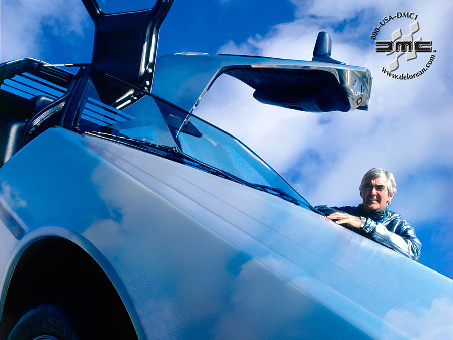 回到未來DeLorean DMC-12跑車故事有夠狂!創辦人因毒品被逮!