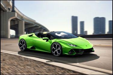 超進化敞篷小牛  Lamborghini Huracan EVO Spyder